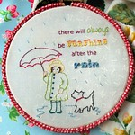 Always be Sunshine Stitchery