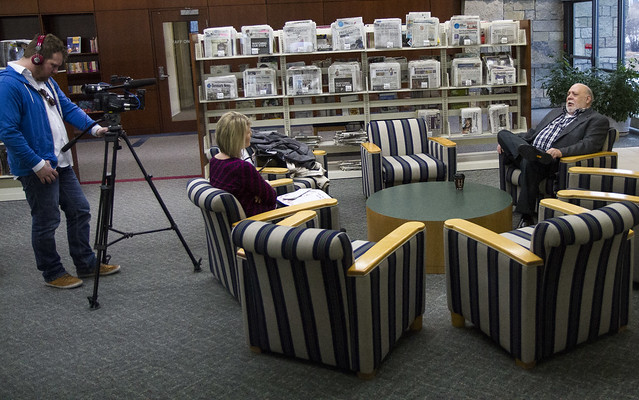 Wbay Tv Interviews Baetz Lester Public Library Two