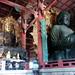 Great Buddha and pretty good buddha, Nara, Japan by gruntzooki