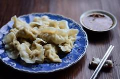 大白菜香菇猪肉水饺Dumplings