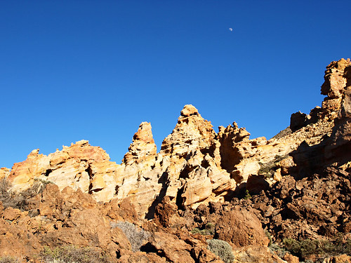 Orange rock formations, Teide National Park, Tenerife