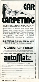 1974 Automat Co Advertising Road & Track December 1974 (03)
