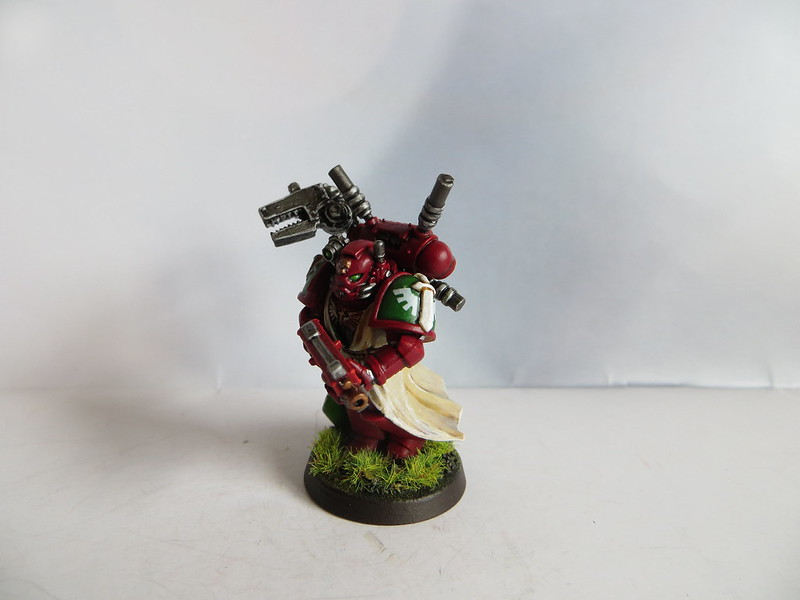 Techmarine with Power Field Generator I
