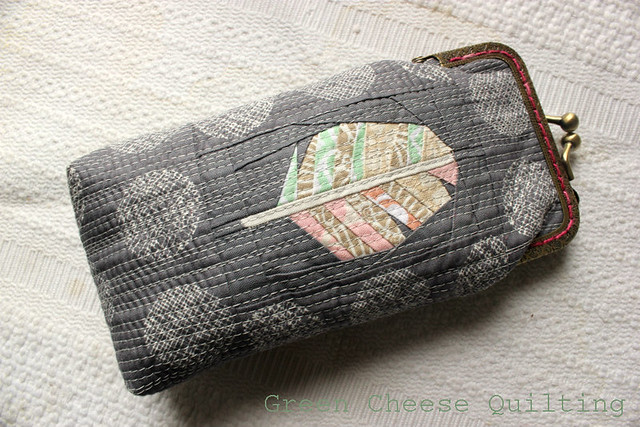 Feather Glasses Case