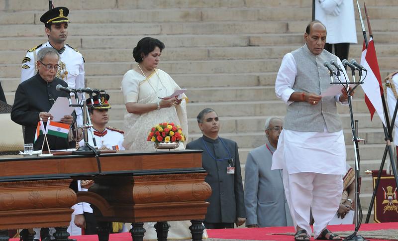 India home affairs minister 2014 Raj Nath Singh