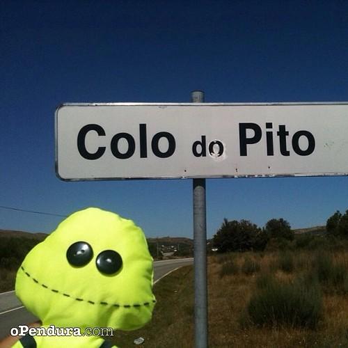 E não é que lá tem terra que se chama assim  #opendura #colodopito #pito #guia #portugal