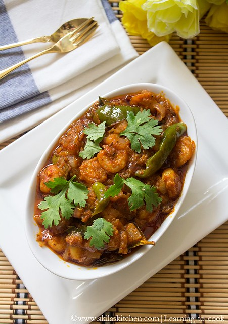 andhra prawn curry