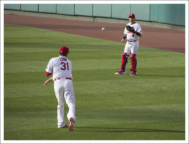 Lynn And Molina Warm Up