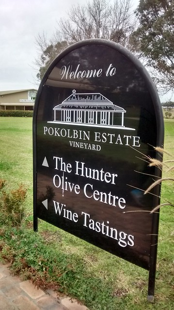pokolbin estate olives wine
