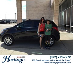Congratulations to Kandi Trevino on your #Buick #Encore from Jeffery Clifton at Heritage Buick GMC! #NewCar
