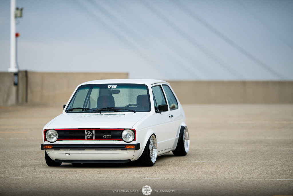 Jesse Seymour's GarageJobs Mk1 VW Rabbit VR6 on BBS RS - © Sam Dobbins 2014 - 1024