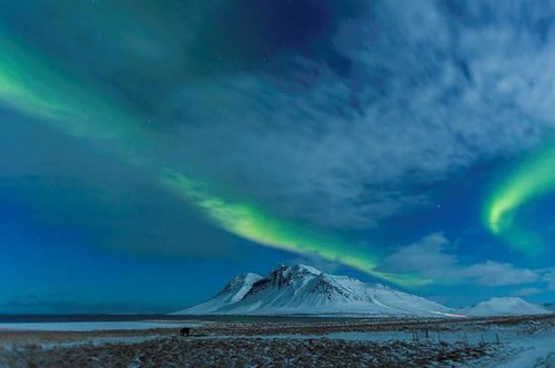 Northern Lights over Kolgrafafjordur (Malcolm Stott) 2