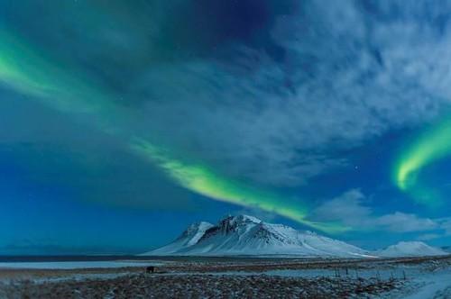 Northern Lights over Kolgrafafjordur (Malcolm Stott) 2