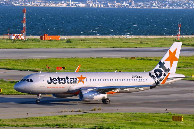 JA12JJ 捷星航空 ジェットスター・ジャパン Jetstar Japan Airbus A320-200