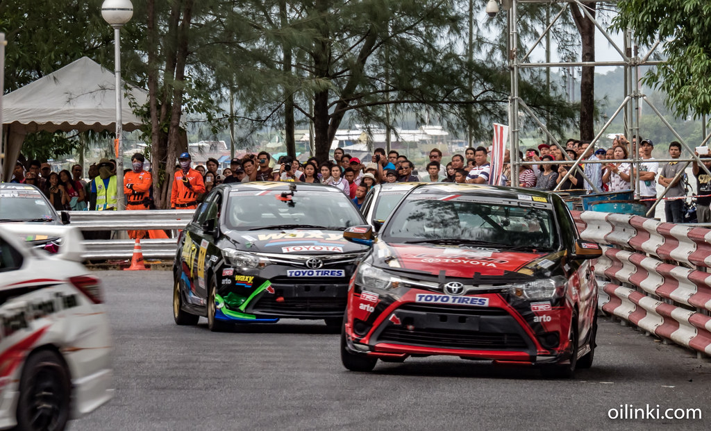 Toyota racing in Phuket