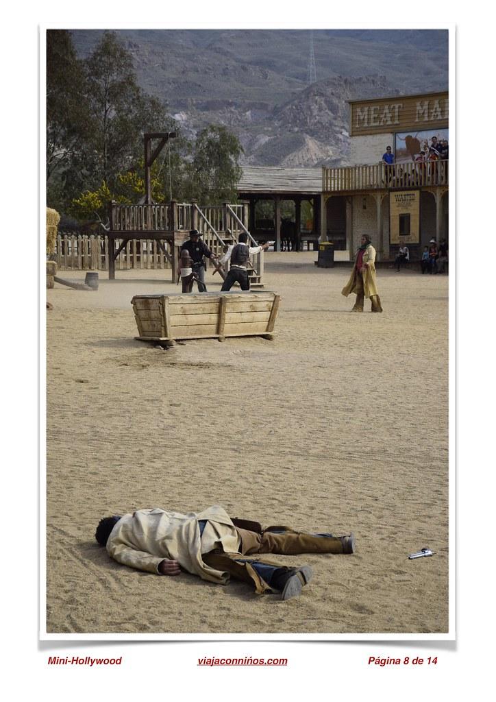 Minihollywood en el Desierto de Tabernas.