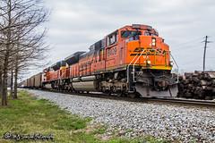 BNSF 8409   EMD SD70ACe   NS Memphis District