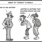 Height of literacy in Kerala. #godsowncountry #literacy #kerala #matter