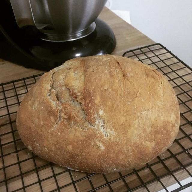 Blizzard bread baking