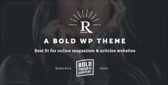 Regular WordPress Theme free download