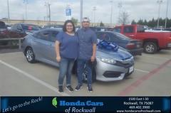 Congratulations Priscilla on your #Honda #Civic Sedan from Terry North at Honda Cars of Rockwall!