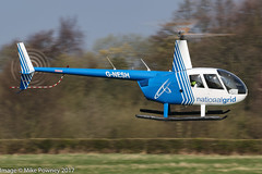 G-NESH - 2007 build Robinson R44 Clipper II, inbound to Barton for fuel