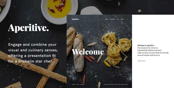 Aperitive WordPress Theme free download