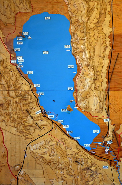 Pyramid lake map pictures to pin on pinterest pinsdaddy for Fishing license nevada