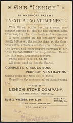 The Lehigh with Brinkerhoff's Patent. (back)