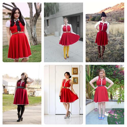 Red Dress,  Flock Together, Remix, swap, nautical,