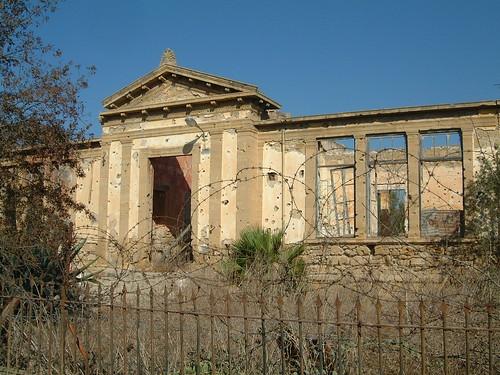 La zone tampon du centre historique de Nicosie, CHYPRE