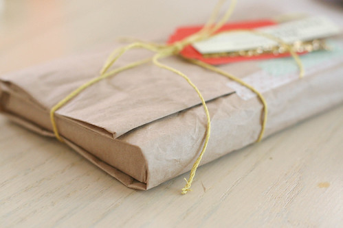 """brown paper packages…"""