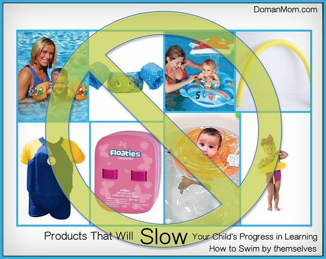 Products That SLOW Your Child's Development in Learning How to Swim By Themselves