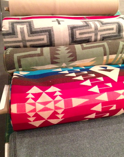 pendleton fabric arrives!