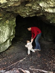 First time in a cave