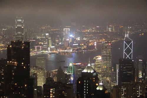 Prácticas: Hong Kong de noche