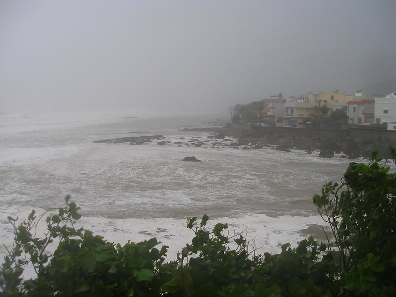 2009年莫拉克侵襲墾丁萬里海岸