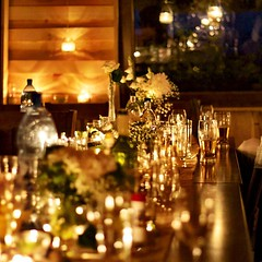 wedding, centrepiece, banquet, rehearsal dinner, lighting,