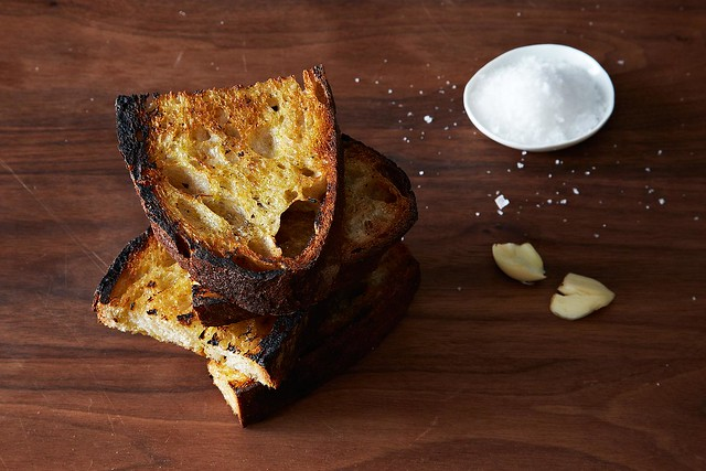 Grilled Garlic Toast from Food52