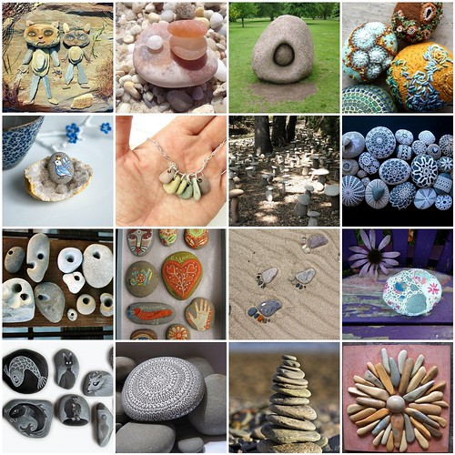 Friday Funspiration: stone art