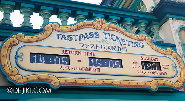 Tokyo DisneySea - Toy Story Mania - Standby 180 minutes