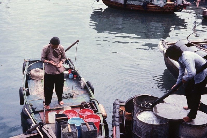 Old Hong Kong  - Aberdeen in 1969