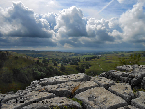 sky cloud storm rain stone clouds landscape view walk yorkshire explore freeze lime fell thaw northyorkshire dales malham yorkshiredales malhamcove