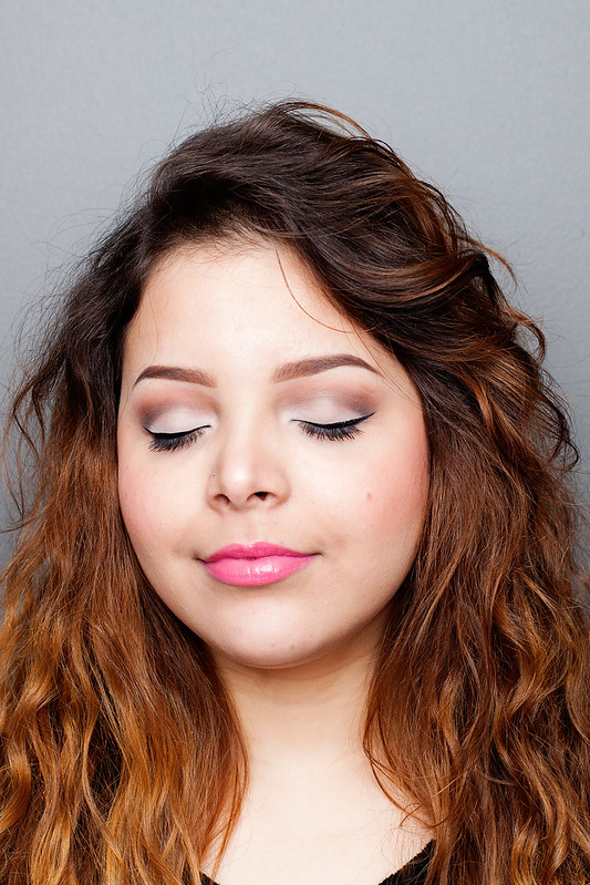theBalm Meet Matte Nude Tutorial - eyes closed