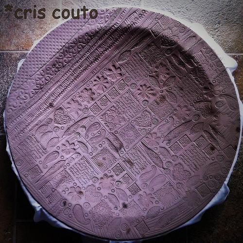 Prato - Folhas e Corações - modelagem by cris couto 73