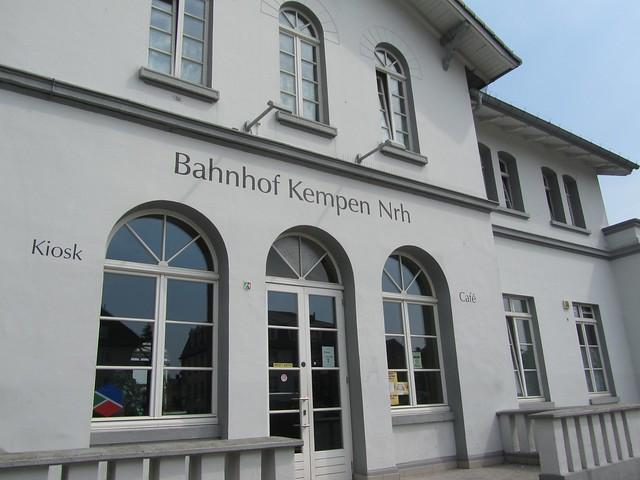 Bahnhof Kempen - Mein Startpunkt