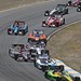 The field winds its way through the Turn 6 carousel during the GoPro Grand Prix of Sonoma