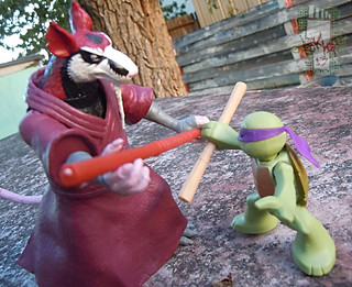 Nickelodeon  TEENAGE MUTANT NINJA TURTLES :: NINJAS in TRAINING, LEONARDO & DONATELLO xiv // .. training with Splinter (( 2013 ))