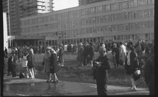 Открытие школы № 1250 1972-09