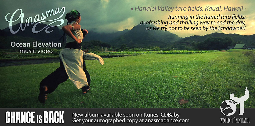 Anasma Music Video Ocean elevation teaser photo 19 running in the humid taro fields